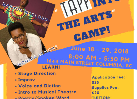 """2018 """"Tapp Into the Arts"""" Camp"""