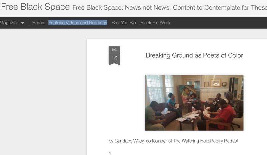 Free Black Space